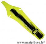 Garde boue VTT arrière jaune fluo fixation chariot de selle marque Roto - Accessoire Vélo