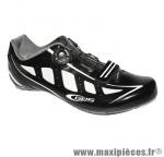 Chaussure route speed noir brillant t42 fixation boa marque GES
