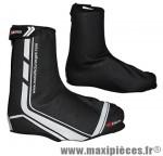 Couvre chaussure VTT hiver windtex noir 46/47 (zip + velcro) (paire) marque GES
