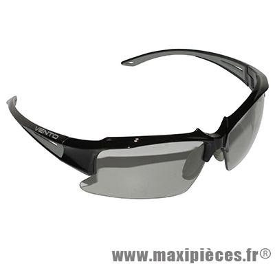 4eac6c8dcebf3 Lunette vélo monture noire (verres photocromic) - Accessoire Vélo Pas Cher