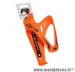 Porte bidon x3 orange fluo gomme marque Race One - Accessoire Vélo