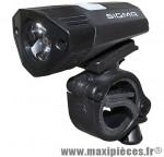 Eclairage vélo a batterie avant buster 100 lumen charge usb marque Sigma - Accessoire Vélo