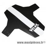 Garde boue VTT avant colori noir/blanc fixation fourche ryslan marque Vélox - Pièce Vélo
