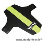 Garde boue VTT avant colori noir/vert fixation fourche ryslan marque Vélox - Pièce Vélo