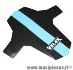 Garde boue VTT avant colori noir/bleu fixation fourche ryslan marque Vélox - Pièce Vélo