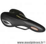 Selle loisir lookin noir 282 x 185mm (gel visible) marque Selle Royal - Pièce Vélo