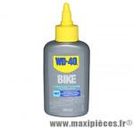 Lubrifiant WD-40 chaine de vélo sous conditions sèches burette 100ml * Déstockage !