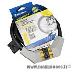 Antivol vélo spiral a combinaison diamètre 12mm l 2,00m (livre avec 3 cles) marque Michelin - Pièce Vélo