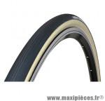 Boyau 700x25 corsa noir/flancs miel graphene/kevlar 280g marque Vittoria - Pièce Vélo