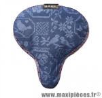 Couvre selle bohème indigo bleu (28x23 cm) marque Basil - Matériel pour Cycle