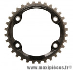 Plateau 32 dents VTT mono xt m8000 11v. 4 branches marque Shimano - Matériel pour Vélo