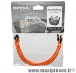 Cordon élastique pour panier maille orange fluo (par 3)