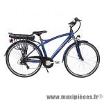 Vélo électrique VTC sport 27,5 pouces alu homme avec écran lcd, bleu  - Pièces Vélo Newton