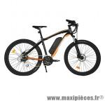 Vélo électrique VTT action 27.5 pouces loisir avec écran lcd, noir-orange - Pièces Vélo Newton