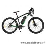 Vélo électrique VTT action 27.5 pouces loisir avec écran lcd, noir-vert - Pièces Vélo Newton