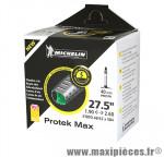 Chambre a air Vélo 27,5x1.90-2.30 protek max valve presta longueur 40mm avec liquide anti-crevaison - Michelin Vélo