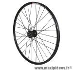 Roue VTT 26 pouces disc subzero avant noir îillet moy shimano m475 disc noir rayons noirs - Roues et Pièces Vélo Vélox