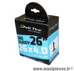 Chambre a air Vélo 26x3.50-4.00 valve schrader (pour fatbike) - Pneus Vélo Deli Tire