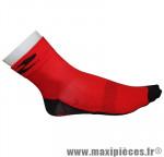 Socquette été coton rouge 40-43 (paire)