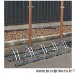 Garage 5 vélos tubes renforces (lg130xl30xh26cm) produit français
