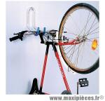 Support Vélo mural pour 1 Vélo a crochet fixation guidon