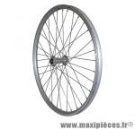 Roue VTT 24 pouces avant alu argent double paroi moy alu blocage - Roues et Pièces Vélo Vélox