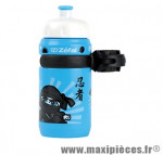 Bidon enfant little z boy bleu 350ml (vissable) (avec fixations) - Matériel pour Cycle Zéfal