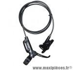 Frein a disque VTT hydraulique level arrière noir durite 1800mm (sans disque) (kit) - Pièces Vélo Sram