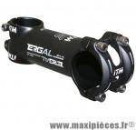 Potence route-VTT ergal noir réversible 31,8 l120mm 134 grammes - Matériel pour Vélo ITM