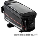 Sacoche de cadre Vélo z console pack m 0,75l noir avec support smartphone étanche fixation velcro - Zéfal