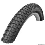 Pneu vélo BMX 20x2.10 marque Schwalbe jumpin'jack couleur noir
