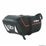 Sacoche de selle vélo zlight pack taille L 1.4 litres couleur noir-gris fixation velcro marque Zéfal