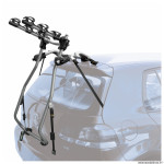 Porte vélo de coffre milano pour 3 vélos avec emplacement (maxi 45kgs) se prend plus bas. marque Peruzzo