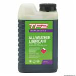 Lubrifiant pour vélo 1L marque Weldtite tf2 performance toutes conditions au téflon pour chaine