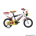 Vélo enfant acier 12 pouces jumpertrek funky garçon couleur noir-blanc