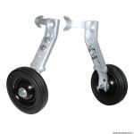 Stabilisateur vélo marque Newton renforcé roue plastique pour vélo handicape 20-24-26 pouces