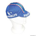 Casquette vélo équipe vintage brooklin blue