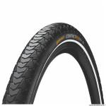 Pneu vélo VTT 27.5x1.60 marque Continental contact plus couleur noir (renfort 5mm homologue 50km-h flanc reflex)