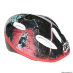 Casque vélo pour enfant taille 52-56 marque Disney starwars v1 noir-rouge