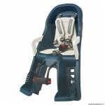 Porte bébé-siège enfant avant à fixer sur direction guppy mini bleu coussin crème (9 à 15kgs - pour les plus jeunes) marque Polisport