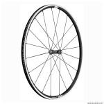Roue vélo route 700 p1800-23 performance avant couleur noir à pneu (hauteur jante 23mm) marque DT Swiss