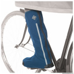 Paire couvre chaussure vélo taille 44-47 hiver tucano uose bleu waterproof