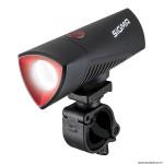Eclairage vélo à batterie avant buster 700 lumen visibilité 100m marque Sigma