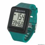 Cardio id.go couleur turquoise 3 fonctions avec ceinture cardiaque marque Sigma