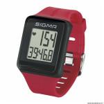Cardio id.go couleur rouge 3 fonctions avec ceinture cardiaque marque Sigma