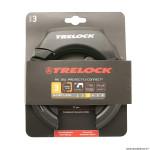 Antivol fer à cheval rs351 noir avec fixation (pour pneu ballon) marque Trelock