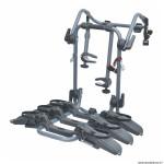 Porte vélo de coffre pure instinct pour 3 vélos avec emplacement (maxi 45kgs) pour 29 pouces marque Peruzzo