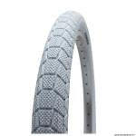 Pneu vélo BMX 20x1.95 marque Kenda slick couleur blanc