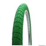 Pneu vélo BMX 20x1.95 marque Kenda slick couleur vert