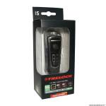 Eclairage vélo à batterie avant ls560 control 50lux rechargeable noir-gris 3 intensités fixation cintre marque Trelock